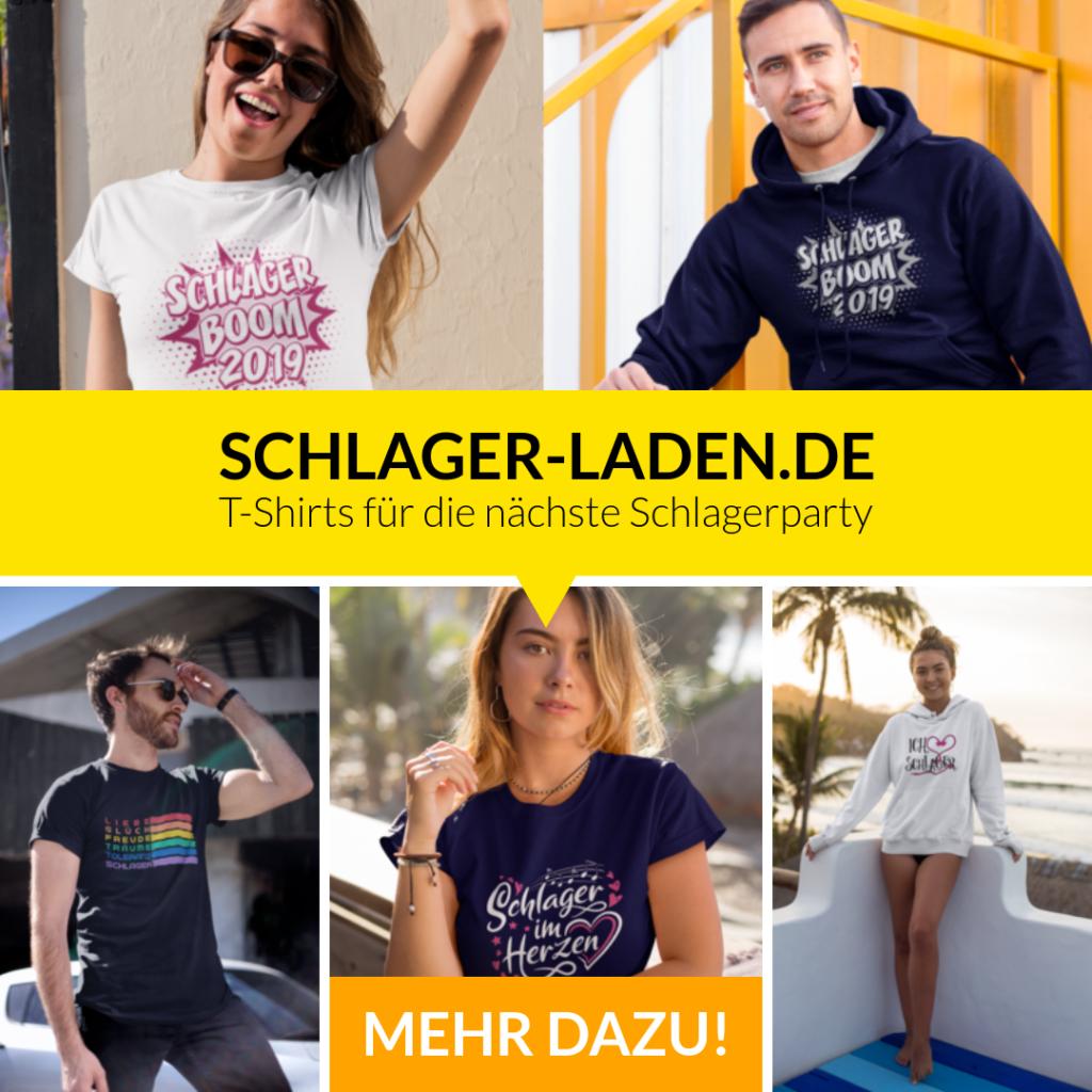 du suchst t-shirts für die nächste schlagerparty dann findest du sie im shop von schlager-laden.de